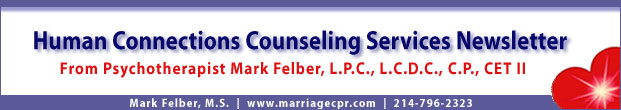 Human Connections Counseling Services :|: Mark Felber, M.S.